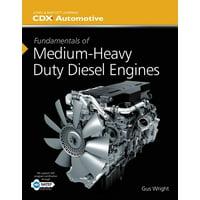 Fundamentals of Medium/Heavy Duty Diesel Engines, Student Workbook, and 2 Year Access to Medium/Heavy Vehicle Online (Hardcover)