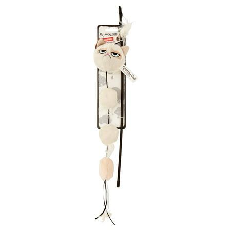 Grumpy Cat Plush Cat Wand Cat Toy