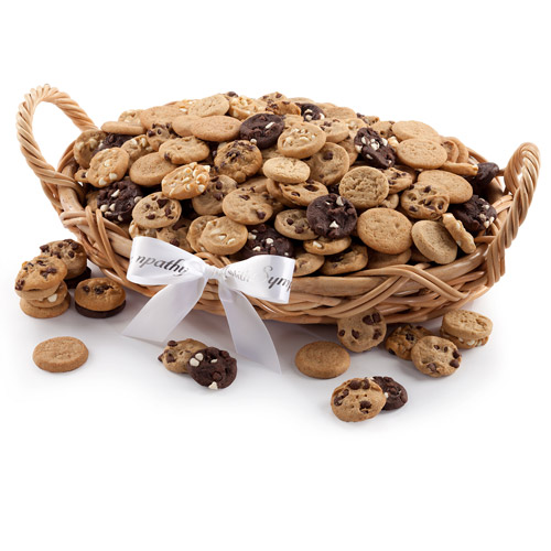 Mrs. Fields Nibblers Sympathy Basket, 200 count