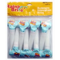 Rainbow Brite Blowouts / Favors (8ct)