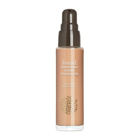 FOUND Nourishing Liquid Foundation with Raspberry Oil, 130 Light/ (Era Oil Free Foundation)