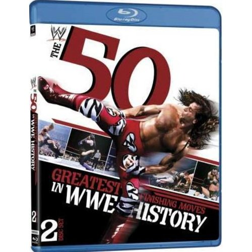 WWE: THE 50 GREATEST FINISHING MOVES IN WWE HISTORY [BLU-RAY BOXSET]