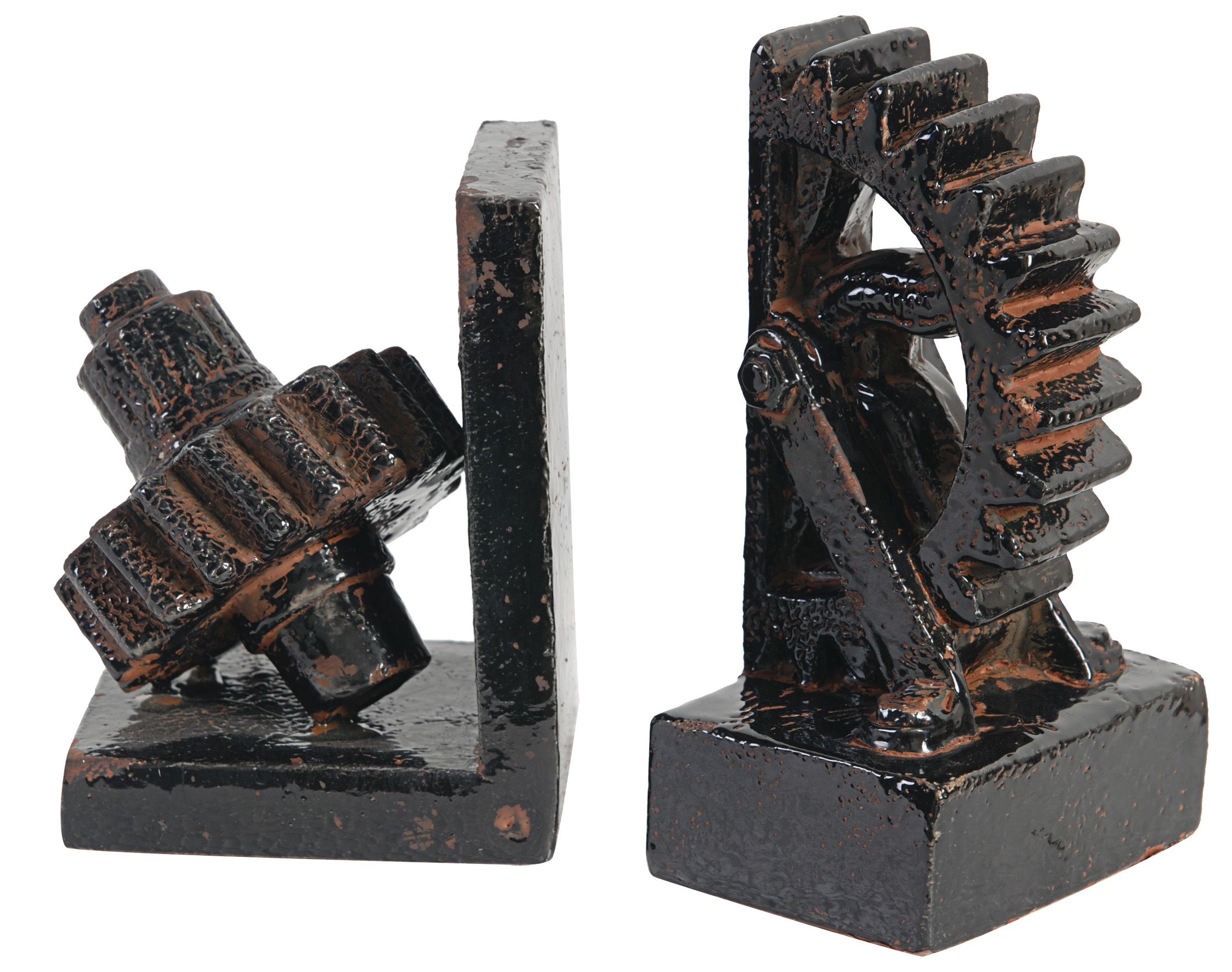 A&B Home Set of 2 Bookends by A&B Home