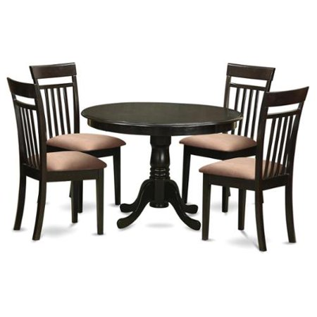 piece kitchen nook table and 4 dining chairs wood seat