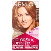 Revlon ColorSilk Luminista, Permanent Hair Color, 125 Deep Maple Brown