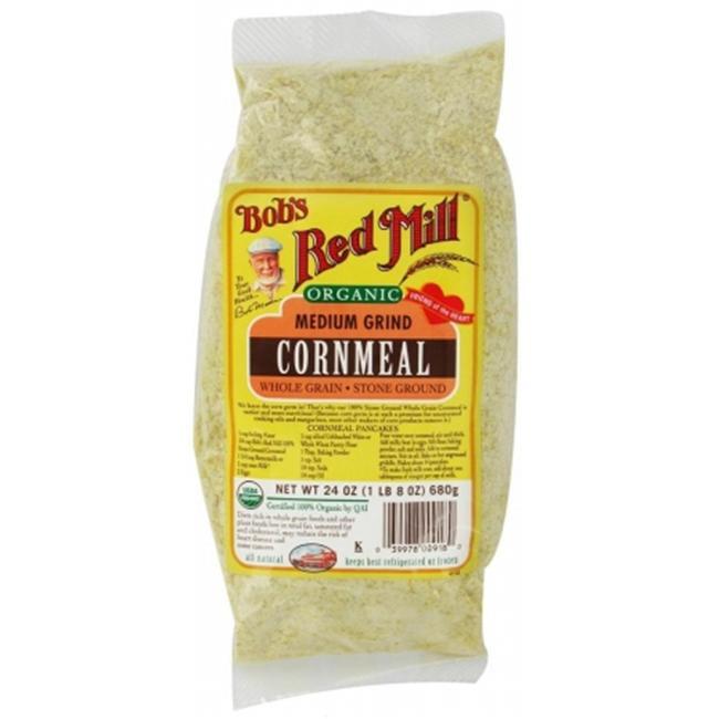 Bobs Red Mill 24864 Organic Medium Grind Cornmeal