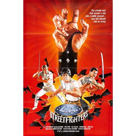 L.A. Streetfighters POSTER Movie Mini Promo