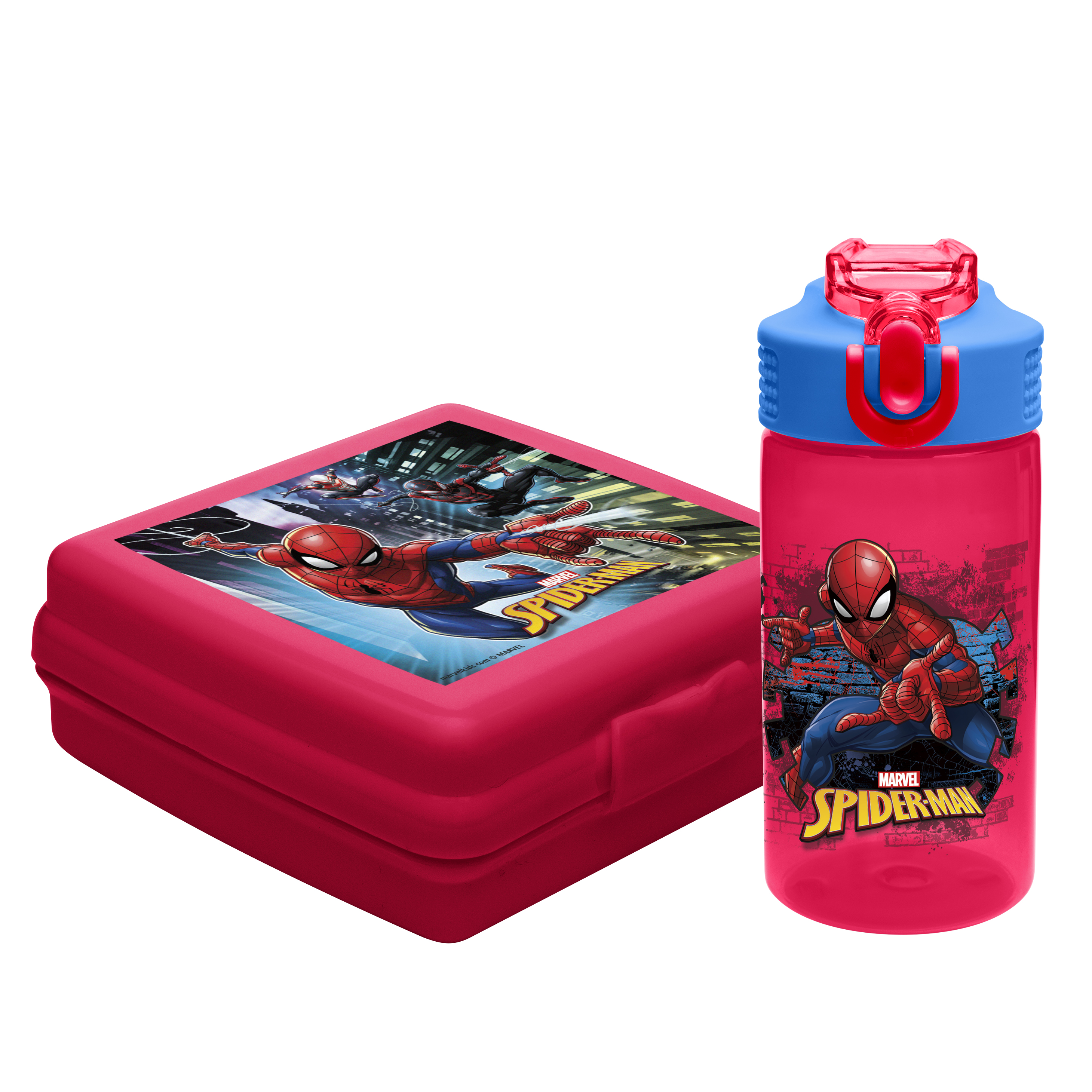 Zak! Designs Marvel Comics Spider-Man Kid's Lunch Sets