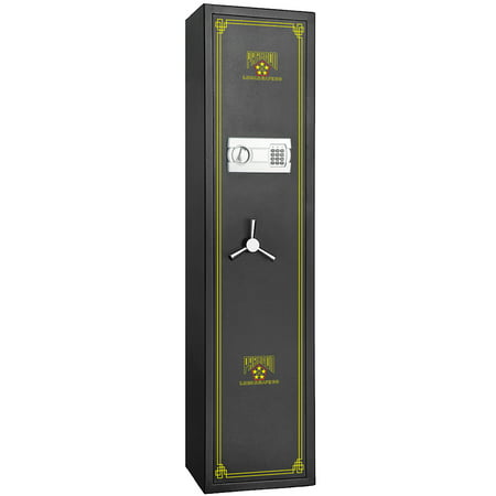 Paragon Lock & Safe Electronic 5 Gun Rifle Safe 4.26cf Gun Cabinet for Firearms