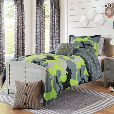Kids Camo Bedding Comforter Set by Better Home and Gardens Kids