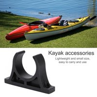 EOTVIA Paddle Holder, Oar Holder,1 Pair Durable Plastic Paddle Oar Holder Clips Keeper for Kayaks Canoes Rowing Boats
