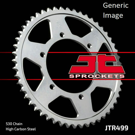 Kawasaki Zx7 Rear - JT Steel Rear Sprocket 45T for Street KAWASAKI ZX750-H Ninja ZX7 1989