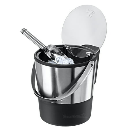 Professional Insulated Ice Bucket with Lid and Scoop Ice Bucket Insert
