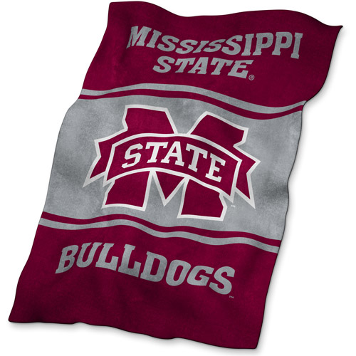 Logo Chair NCAA Mississippi State UltraSoft Blanket