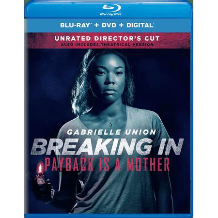 Halloween Ii 2017 Director's Cut (Breaking In (Unrated Director's Cut) (Blu-ray + DVD +)