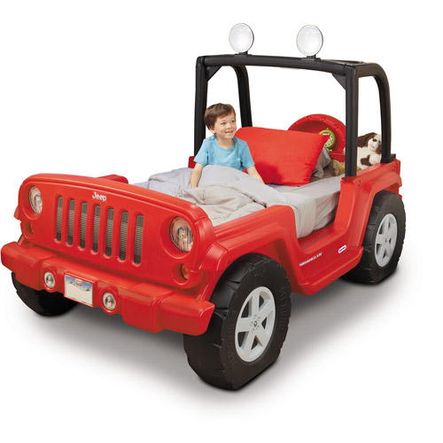 Jeep Toddler Bed, Red