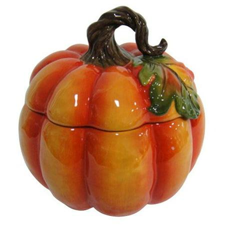 Better Homes And Gardens Pumpkin Cookie Jar Orange