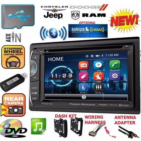 CHRYSLER JEEP DODGE BLUETOOTH DVD CD AUX USB CAR Radio Stereo OPTIONAL (Chrysler Car Stereos)