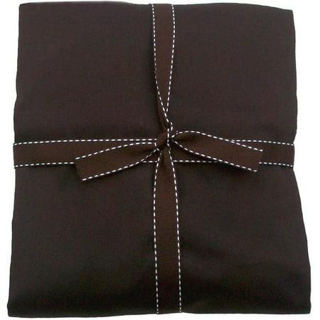 MamaDoo Kids Newborn Sheet (for 1 panel mat) - Chocolate - Math Sheets