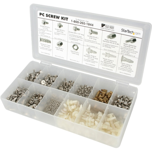 StarTech.com Deluxe Assortment PC Screw Kit