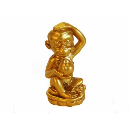 Sitting Golden Monkey with Peach - image 1 de 1