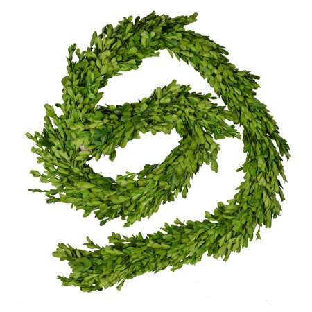 A and B Home 71 in. Faux Boxwood Garland - Boxwood Garland