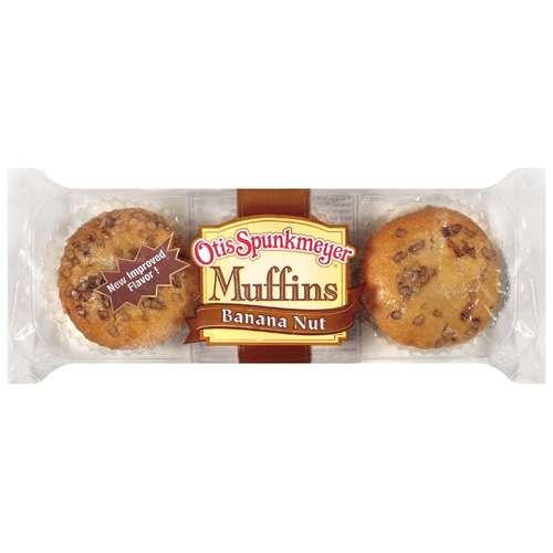 Otis Spunkmeyer Banana Nut Muffins, 12 oz