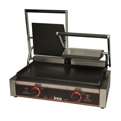 - Winco ESG-2 Sandwich Grill, electric, countertop, double