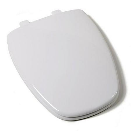 Plumbing technologies 2f1e11 00 premium slow close eljer design plastic elongated toilet seat - Toilet seats design ...