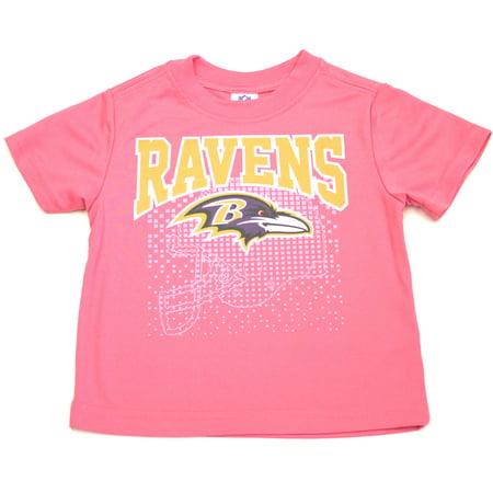 d389efba2 Baltimore Ravens Girls Toddler All-Star Performance Tee - Walmart.com