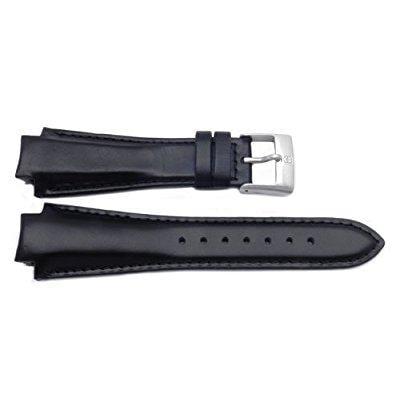 genuine swiss army brand 16mm leather-black-peak series