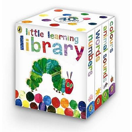 Learn with the Very Hungry Caterpillar : Little Learning Library - Hungry Little Caterpillar