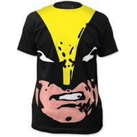 Wolverine X-Men Superhero Marvel Giant Face Print TShirt