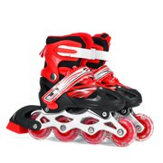 Adjustable Kids Inline Skates Roller Skates with Light Up Wheels for Girls and Boys Outdoor Sports Christmas Gifts