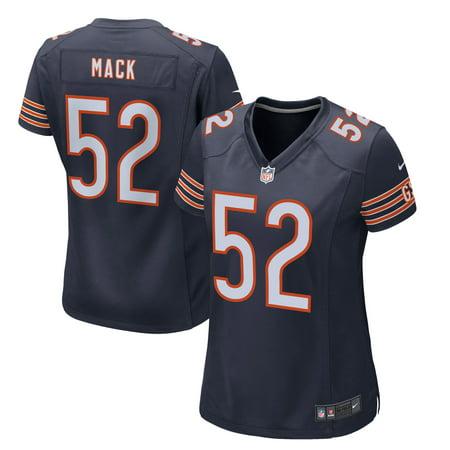 sale retailer d73c1 7dc3b Khalil Mack Chicago Bears Nike Women's Game Jersey - Navy