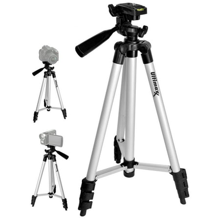 "50"" Inch Full Size Tripod with Leveler Adjust & Carrying Case for DSLR (Hama Star 62 Tripod With Carry Case)"