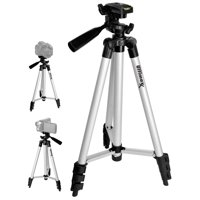 "50"" Inch Full Size Tripod with Leveler Adjust & Carrying Case for DSLR Cameras"