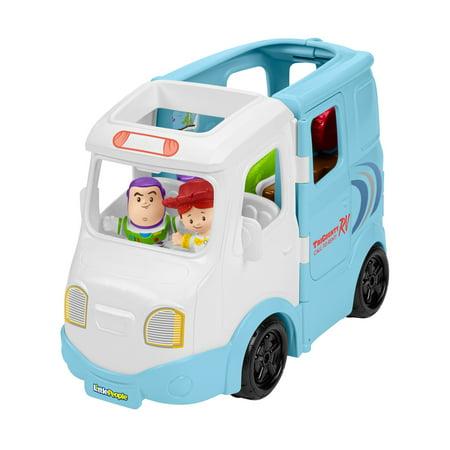 Little People Disney Pixar Toy Story RV with Buzz & Jessie Figures