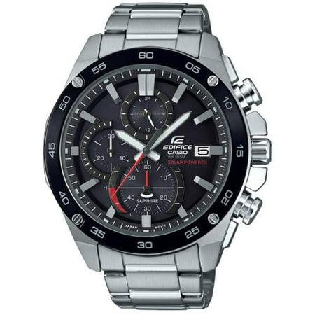 Men's Casio Edifice Solar Power Chronograph Watch (Best Chronograph Under 500)