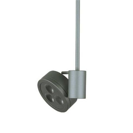 jesco lighting qasl186x6-30sn jerry quick adapter led spot light, satin (Satin Nickel Spotlight)