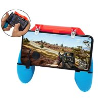 Agoz Phone Game Controller Gamepad Grip Shoot Aim L1R1 Trigger PUBG Mobile Gaming with Optional Joystick for Apple iPhone XS MAX, XS, XR, X, 8 Plus, 8, 7 Plus, 7, 6 Plus, 6, 6S, 6S Plus