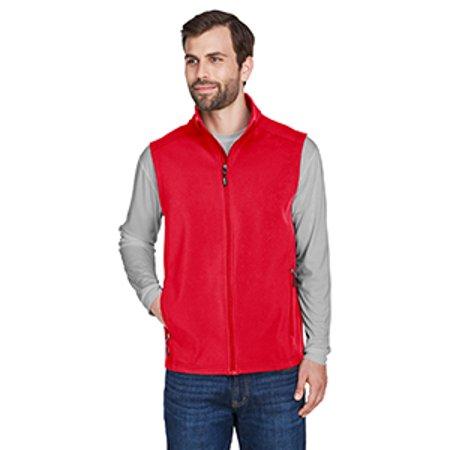 Soft Tech Bonded Shell (Ash City - Core 365 Men's Cruise Two-Layer Fleece Bonded Soft Shell Vest )
