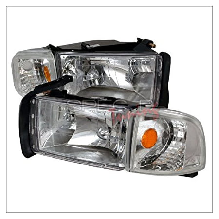 1997 Dodge Ram Problems (Spec-D Tuning Dodge Ram 1994 1995 1996 1997 1998 1999 2000 2001 Euro Headlights - Chrome )