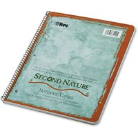 (3 Pack) TOPS Second Nature Subject Wirebound Notebook, 11 x 8 1/2, White, 50 Sheets -TOP74110