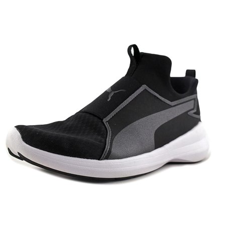 Puma Rebel Mid Women  Round Toe Synthetic Black Basketball