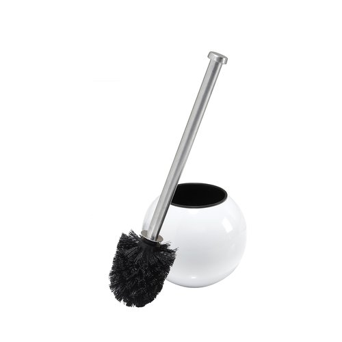 Bath Bliss Toilet Brush, White Globe Design by Kennedy International, INC.