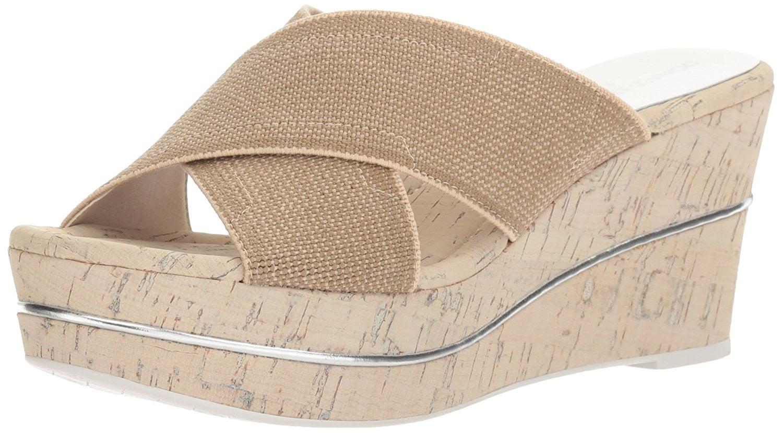 Donald J Pliner Womens Dani2 Fabric Open Toe Casual Platform Sandals by Donald J Pliner