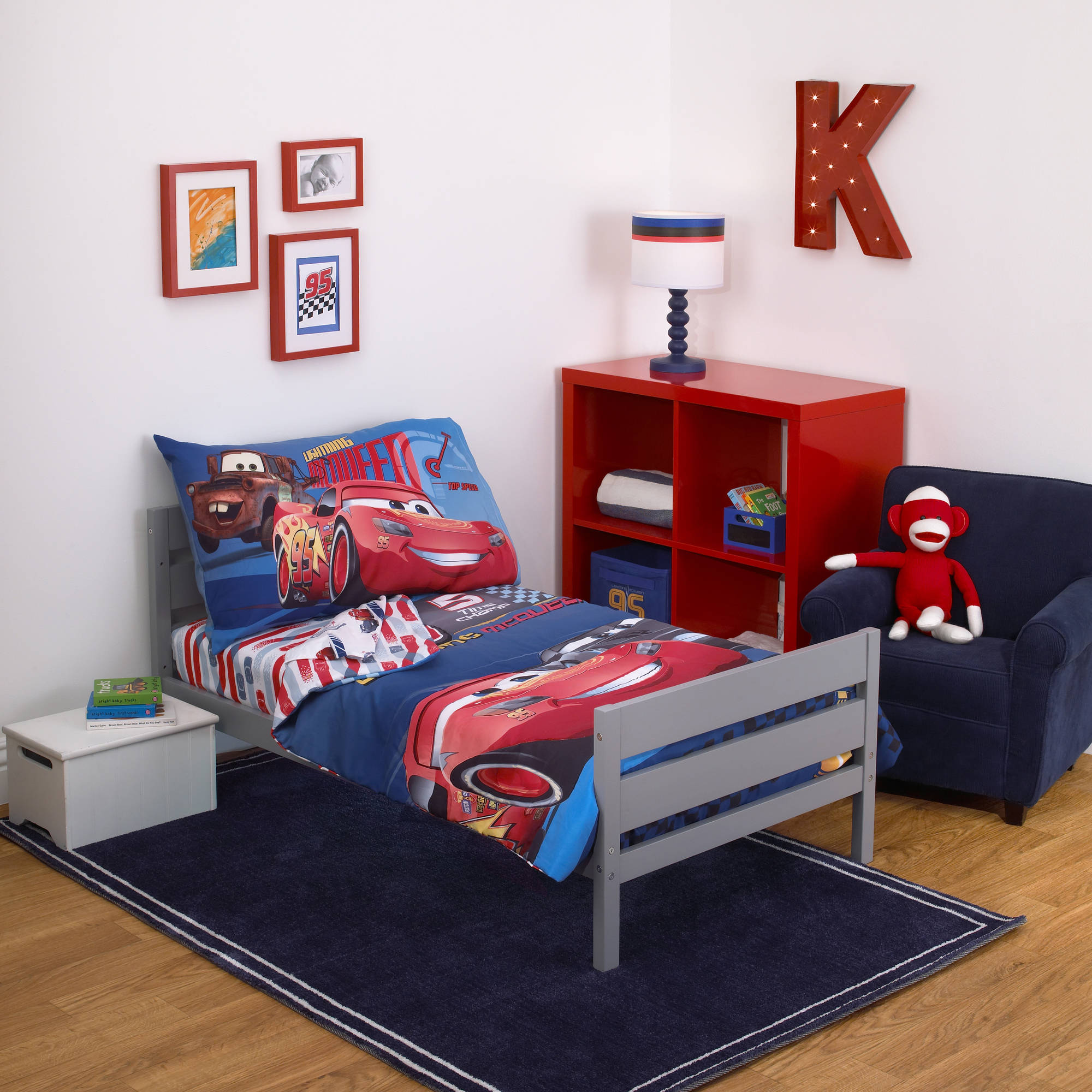 disney cars fast not last 4 piece toddler bedding set walmart com rh walmart com toddler bedroom sets pottery barn toddler bedroom sets ikea