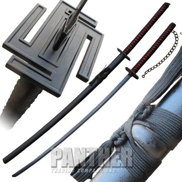 "Large 40"" Ichigo Tensa Bankai Sword Cutting Moon Blade Kn..."