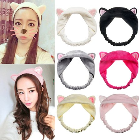 Moderna Girl's Fashion Cute Cat Ears Headband Hair Head Band Party Gift - Ears Headband